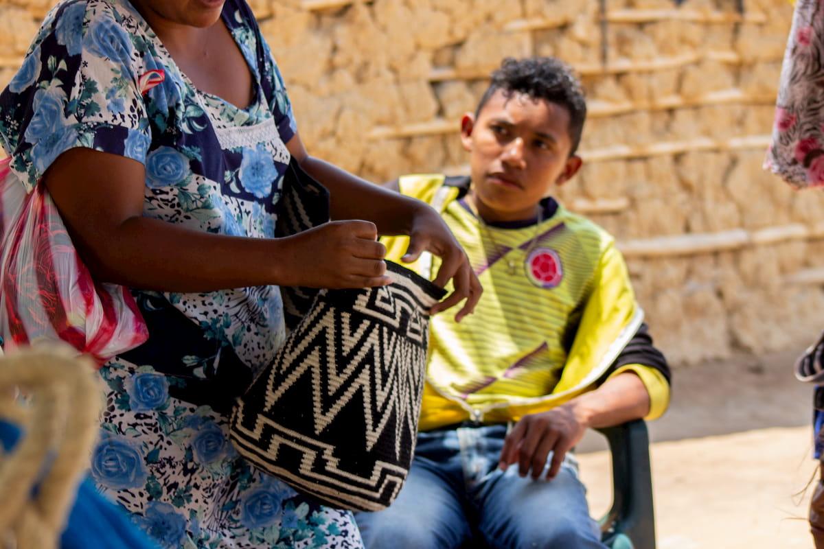 Mochilas, la máxima representación artística wayuú